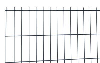 2D plotový dílec, výška 163 cm, šířka 250 cm, antracit, PREMIUM (oko 50x200 mm;drát horizontální 6 mm; drát vertikální 5 mm) - 1