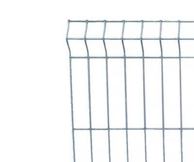 3D plotový dílec, výška 203 cm, šířka 250 cm, pozink, PREMIUM (oko 50x200 mm; drát 5,0 mm) - 1