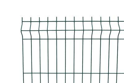 3D plotový dílec, výška 173 cm, šířka 250 cm, zelený, PREMIUM (oko 50x200 mm; drát 5,0 mm) - 1