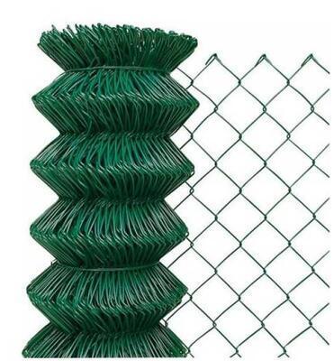 Poplastované PVC pletivo, výška 125 cm, zelené, STANDARD, bez ND (oko 50x50 mm; drát 2,5 mm) - 1