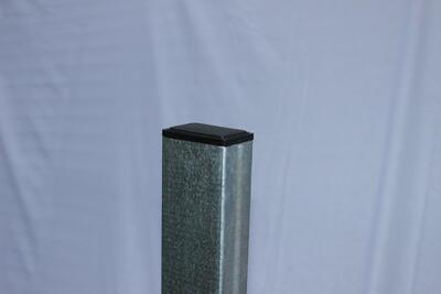 Plotový sloupek, pozink, 200 cm, stěna 1,5 mm, pro 2D i 3D plotové dílce