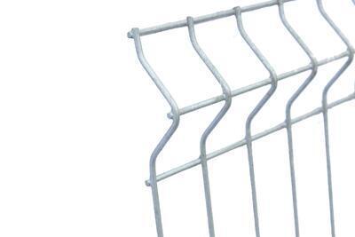 3D plotový dílec, výška 203 cm, šířka 250 cm, pozink, PREMIUM (oko 50x200 mm; drát 5,0 mm) - 2