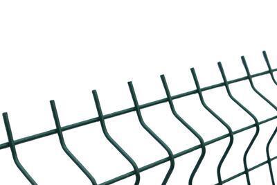 3D plotový dílec, výška 173 cm, šířka 250 cm, zelený, STANDARD (oko 50x200 mm; drát 4,0 mm) - 2