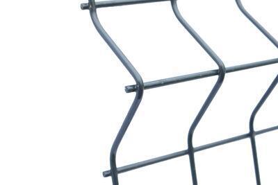 3D plotový dílec, výška 123 cm, šířka 250 cm, antracit, PREMIUM (oko 50x200 mm; drát 5,0 mm) - 4