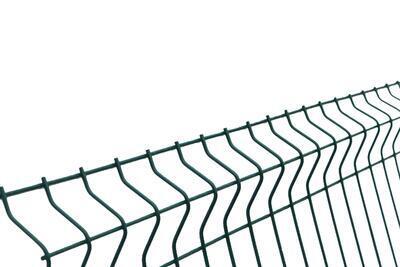 3D plotový dílec, výška 123 cm, šířka 250 cm, zelený, EKONOMIK (oko 50x200 mm; drát 3 mm) - 4