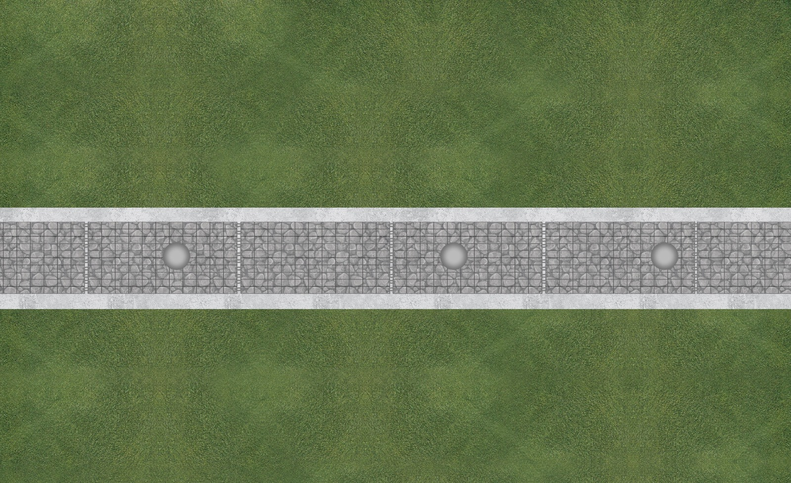 gabionová zeď vyztužená shora