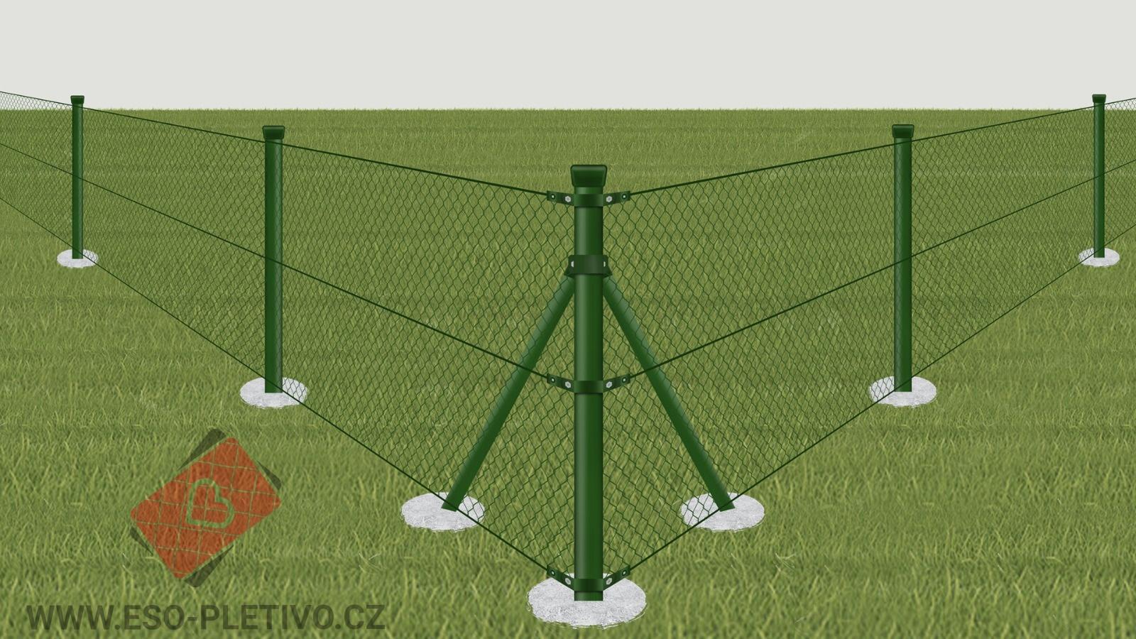 plot z poplastovaného pletiva