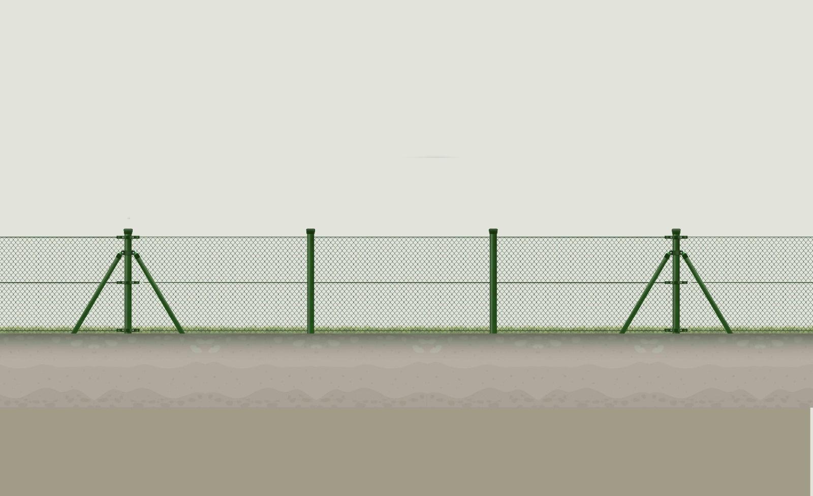 plot z klasickeho čtyřhranného poplastovaného pvc pletiva